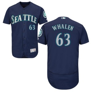 Youth Majestic Seattle Mariners Rob Whalen Navy Alternate Flex Base Collection Jersey - Replica